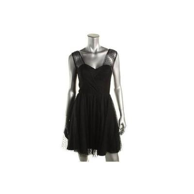 ベッツィ アンド アダム ドレス ワンピース Betsy & Adam 8262 レディース ノースリーブ Semi-Formal ミニ Semi-Formal ドレス BHFO