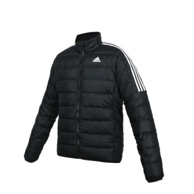 ADIDAS 男羽絨外套-亞規 立領外套 保暖 愛迪達 GH4589 黑白