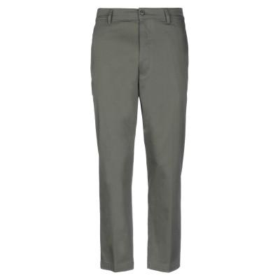 ブライアン デールズ BRIAN DALES パンツ ミリタリーグリーン 35 コットン 97% / ポリウレタン 3% パンツ