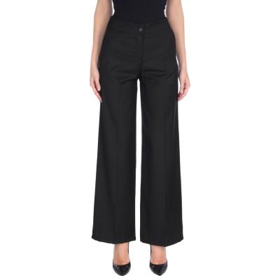 LES EPICES パンツ ブラック L ポリエステル 62% / レーヨン 35% / ポリウレタン 3% パンツ