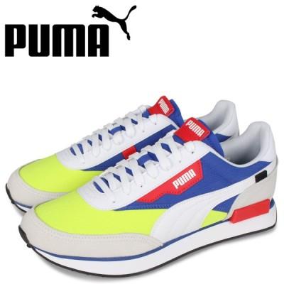 PUMA プーマ フューチャー ライダー スニーカー メンズ FUTURE RIDER PLAY ON ホワイト 白 37114906