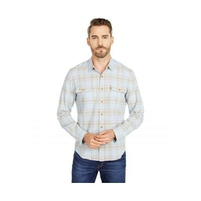 Lucky Brand ラッキーブランド メンズ 男性用 ファッション ボタンシャツ Long Sleeve Humboldt Workwear Shirt - Blue Plaid
