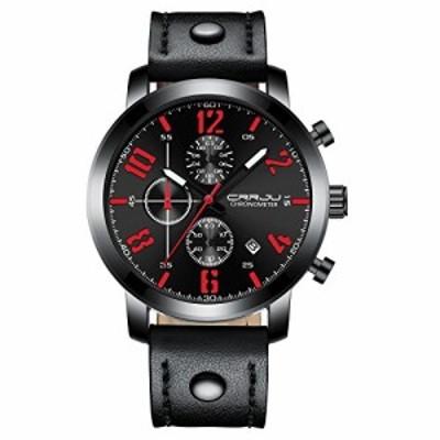 メンズ腕時計クォーツアナログUniqueビジネス、カジュアルファッションデザ(中古品)
