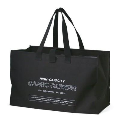HIGHTIDE ハイタイド カーゴバッグ /ブラック EZ032BK 旅行用品