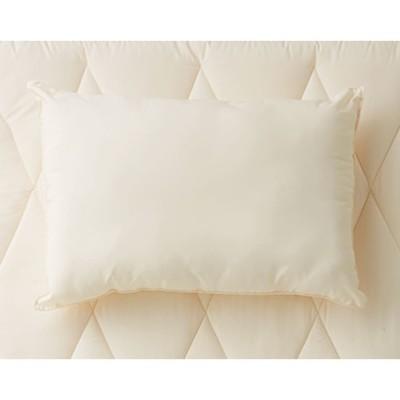 あったか洗える清潔寝具 洗える枕(普通判) アイボリー