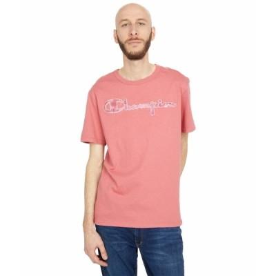 チャンピオン シャツ トップス メンズ Heritage Short Sleeve T-Shirt Siesta Pink