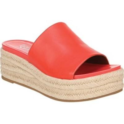 フランコサルト レディース サンダル シューズ Tola Espadrille Platform Slide Watermelon Leather