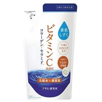 アサヒ 素肌しずく ビタミンC 化粧水 つめかえ用 (180mL) 詰め替え用