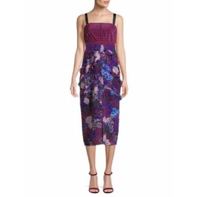 サローニ ロンドン レディース ワンピース Print Shift Dress