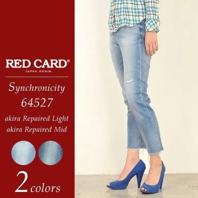 SALEセール10%OFF レッドカード RED CARD レディース シンクロニシティ リペア クロップド デニムパンツ ジーンズ  Synchronicity Repaired 64527