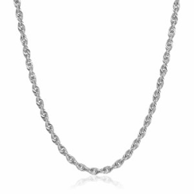 """10K Gold 1.5MM, 2.5MM, 3MM, 3.5MM, 4MM, or 5MM Diamond Cut Rope Chain Necklace Unisex Sizes 7""""-30"""" - Yellow, White, or Rose (Whi"""