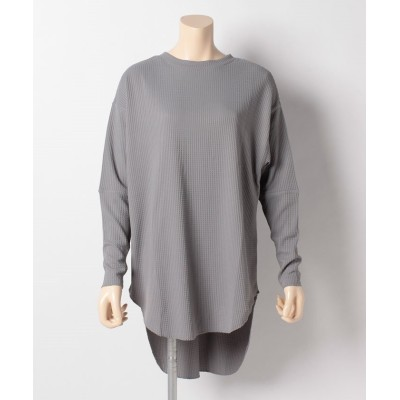 【オーシャンパシフィック】 ハンソデ UVTシャツ レディース グレー L Ocean Pacific