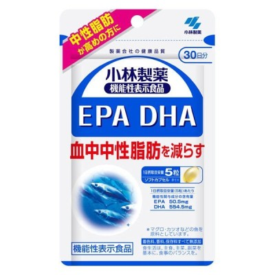 《小林製薬》機能性表示食品 EPA DHA 150粒入
