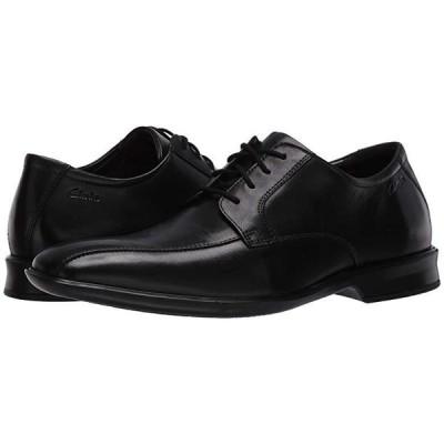 クラークス Bensley Run メンズ オックスフォード Black Leather