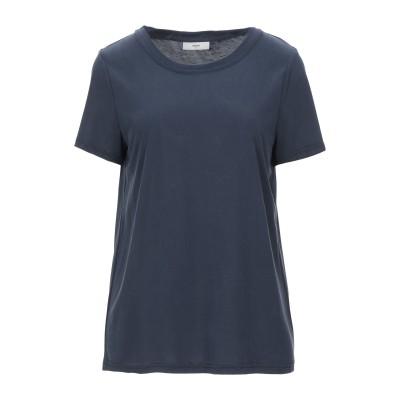 MINIMUM T シャツ ダークブルー S レーヨン 70% / リサイクルポリエステル 30% T シャツ