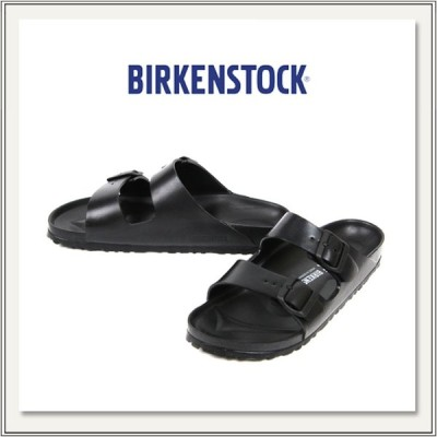 BIRKENSTOCK(ビルケンシュトック) EVA ARIZONA(アリゾナ) BLACK(黒色/ブラック) [サンダル/ビーチサンダル][ダブルストラップ][フラット][メンズ/レディース]
