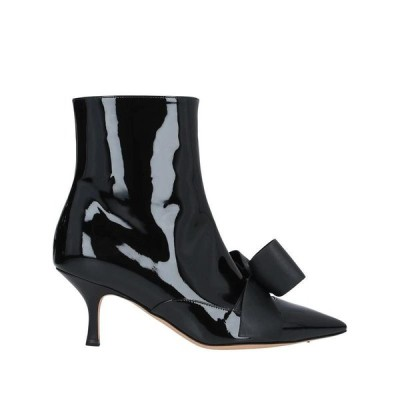 ROCHAS ショートブーツ  レディースファッション  レディースシューズ  ブーツ  その他ブーツ ブラック