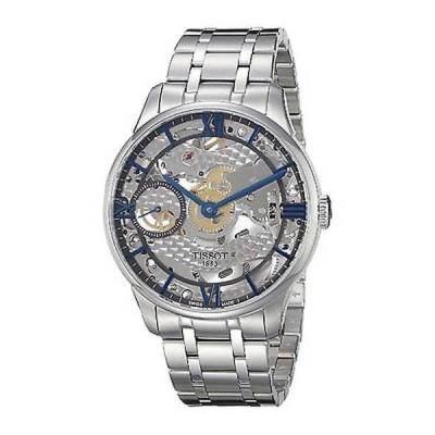 腕時計 ティソット Tissot メンズ T0994051141800 'Chemin Des Tourelles Squelette' オートマチック 腕時計