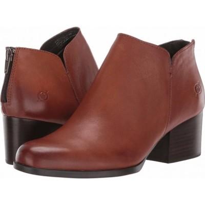 ボーン Born レディース ブーツ シューズ・靴 Aare Brown Full Grain Leather