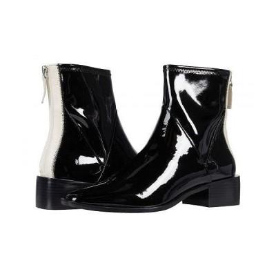 LINEA Paolo レディース 女性用 シューズ 靴 ブーツ アンクル ショートブーツ Velore - Black/Cream