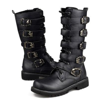 タクティカルブーツ メンズ ミリタリーブーツ デザートブーツ アウトドアブーツ 作業靴 安全靴 防滑 耐磨耗 登山 マウンテンブーツ