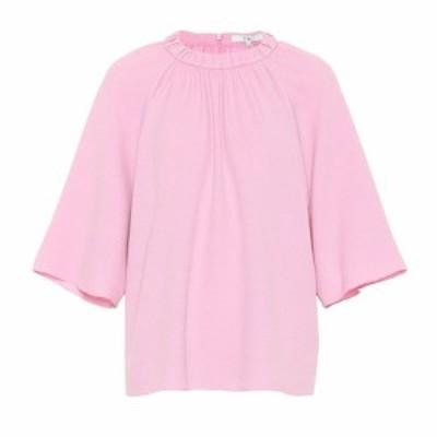 ティビ Tibi レディース トップス Mica crepe top Pink