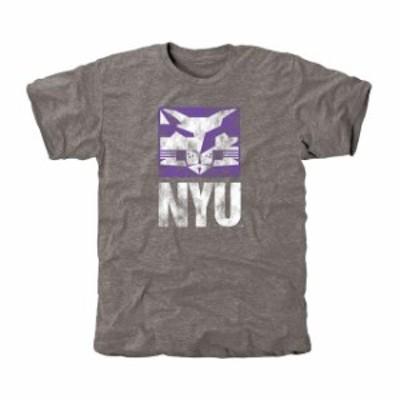 Fanatics Branded ファナティクス ブランド スポーツ用品  NYU Violets Classic Primary Tri-Blend T-Shirt - Ash