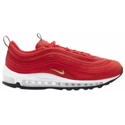 ナイキ メンズ エア マックス97 Nike Air Max '97 スニーカー Challenge Red/Metallic Gold/White/Black