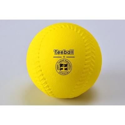 【送料別】ティーボール 学校 体育 日本ティーボール協会公認9インチボール【アカバネ】B-849