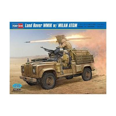 Hobby Boss Land Rover WMIK with Milan ATGM Vehicle Model Building Kit