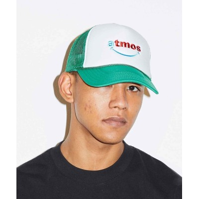 atmos / atmos SMILEY MESH CAP / アトモス スマイリーメッシュキャップ MEN 帽子 > キャップ