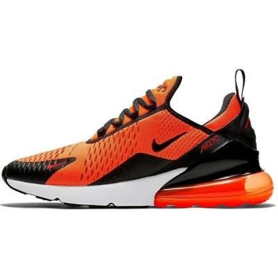 ナイキ NIKE エアマックス 270 Air Max Running Shoes メンズ BV2517-800 スニーカー Black Orange