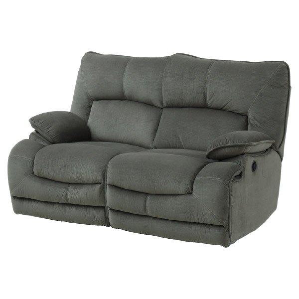 ◎布質2人用電動可躺式沙發 HIT GY NITORI宜得利家居