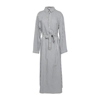 I BLUES 7分丈ワンピース・ドレス ダークブルー 42 レーヨン 100% 7分丈ワンピース・ドレス