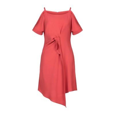 MR MASSIMO REBECCHI ミニワンピース&ドレス レッド XS ポリエステル 97% / ポリウレタン 3% ミニワンピース&ドレス