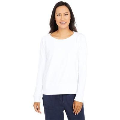 モドオードック レディース パーカー Terrycloth Raglan Sleeve Boxy Sweatshirt