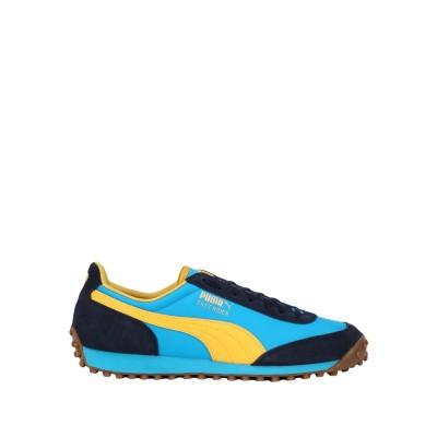 プーマ PUMA スニーカー&テニスシューズ(ローカット) ターコイズブルー 8.5 革 / 紡績繊維 スニーカー&テニスシューズ(ローカット)