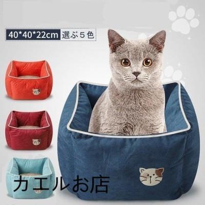 ペットベッド 猫ベット ネコ キャット ペットハウス 猫用ベッド キャットハウス 室内用厚み 暖かい 冬 ねこ用ベッド キャットベッド おしゃれ ペット用品