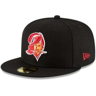 ニューエラ メンズ 帽子 アクセサリー Tampa Bay Buccaneers New Era Omaha Throwback 59FIFTY Fitted Hat