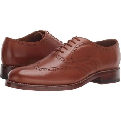 ボストニアン Bostonian メンズ 革靴・ビジネスシューズ メダリオン シューズ・靴 Rhodes Brogue Tan Leather
