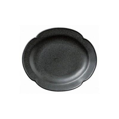 デプレブラックオーバルプレートS 01802-080