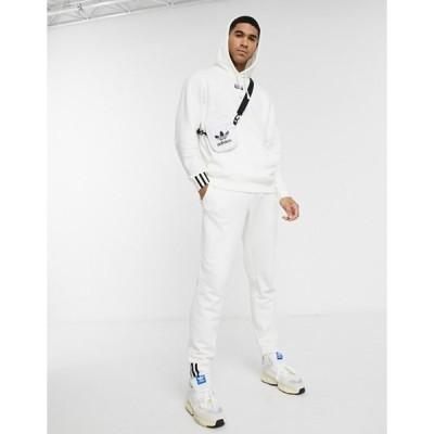 アディダス メンズ カジュアルパンツ ボトムス adidas Originals RYV sweatpants in white