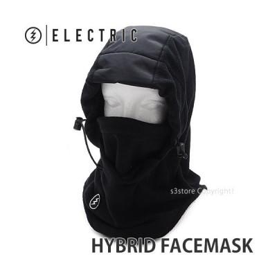 21model エレクトリック フェイスマスク ELECTRIC HYBRID FACEMASK バラクラバ スノーボード スノボー スキー 帽子 防寒 カラー:Black