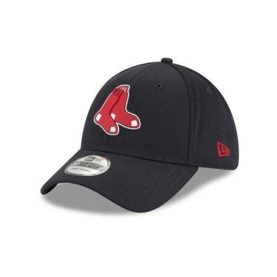 ニューエラ メンズ 帽子 アクセサリー Boston Red Sox  Clubhouse 39THIRTY Cap