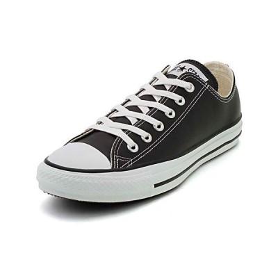 converse(コンバース) LEA ALL STAR OX(レザーオールスターOX) 1B906 ブラック(メンズ)|スニーカー メンズ