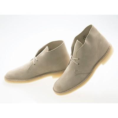 クラークス CLARKS ORIGINALS DESERT BOOTS デザートブーツ SAND SUEDE サンド スエード OUTLET アウトレット 縫製不良 UK6.5(25.5センチ) #26138235-out1