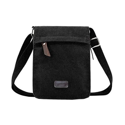 Berchirly Vintage Men Canvas Messenger Crossbody bag Pack Organizer for Travel Hiking Climbing 並行輸入品