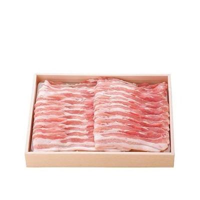 九州産 赤身肉と脂肪が層になっている 黒豚三枚肉 350g
