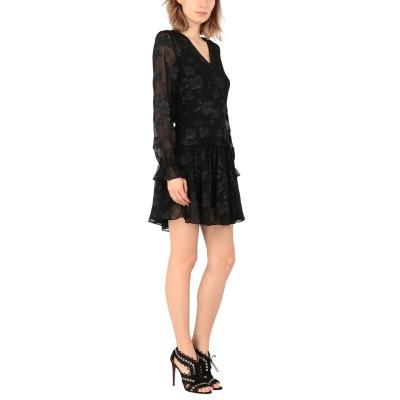 ALLSAINTS ミニワンピース&ドレス ブラック L ポリエステル 100% ミニワンピース&ドレス