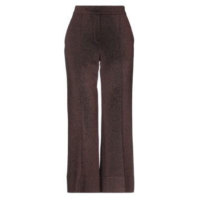 トゥルー ロイヤル TRUE ROYAL パンツ ブロンズ 42 ナイロン 42% / レーヨン 39% / 金属繊維 18% / ポリウレタン 1